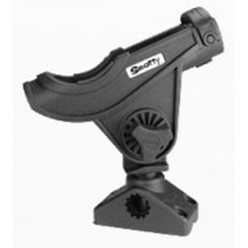 [SCOTTY] No. 280 Bait Caster / Spinning Rod Holder - side / Deck Mount